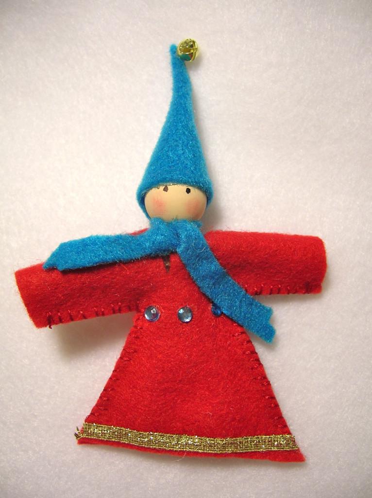 felt gnome tutorial | movita beaucoup