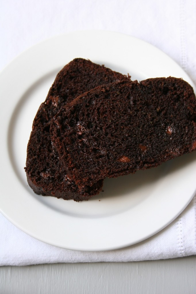chocolate zucchini bread | movita beaucoup