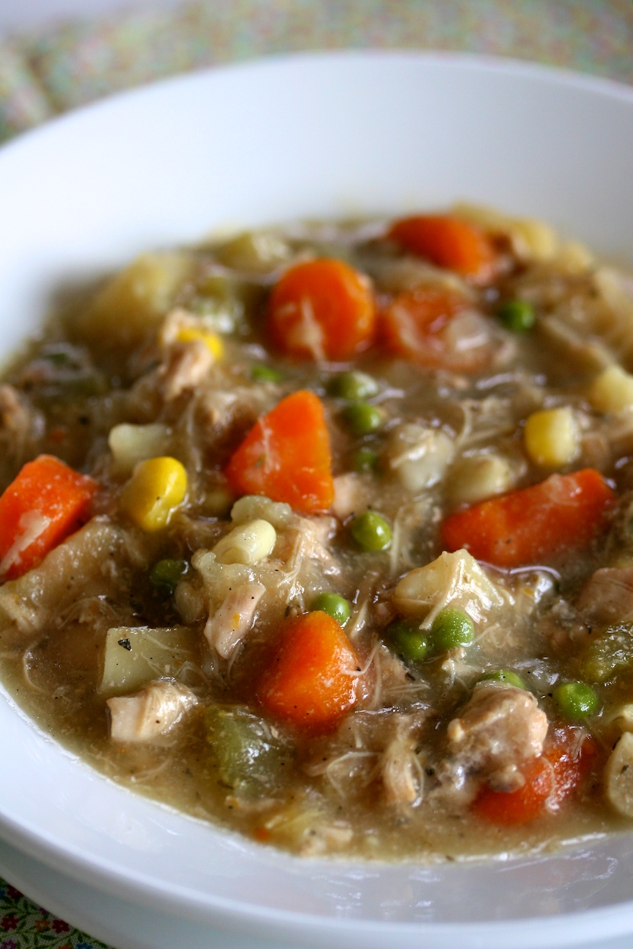 Slow cooker chicken stew movita beaucoup for Slow cooker fish stew