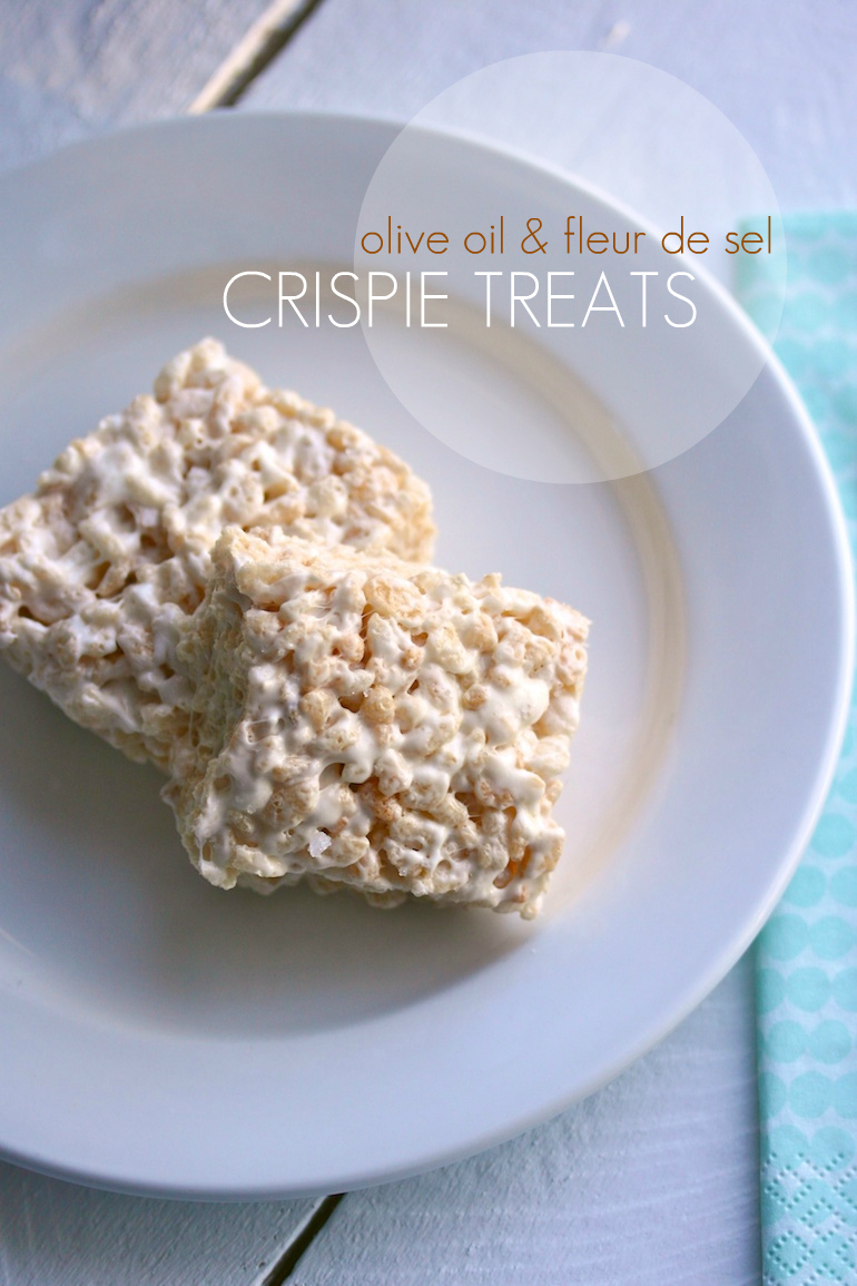 movita's crispie treats