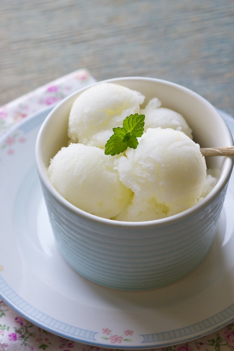 lemon sorbet | movita beaucoup