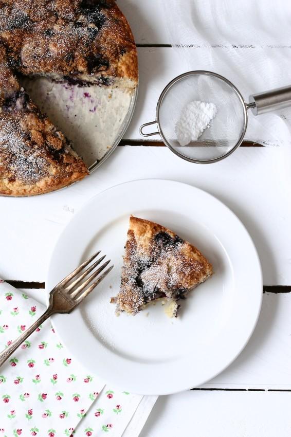 blueberry snacking cake | movita beaucoup