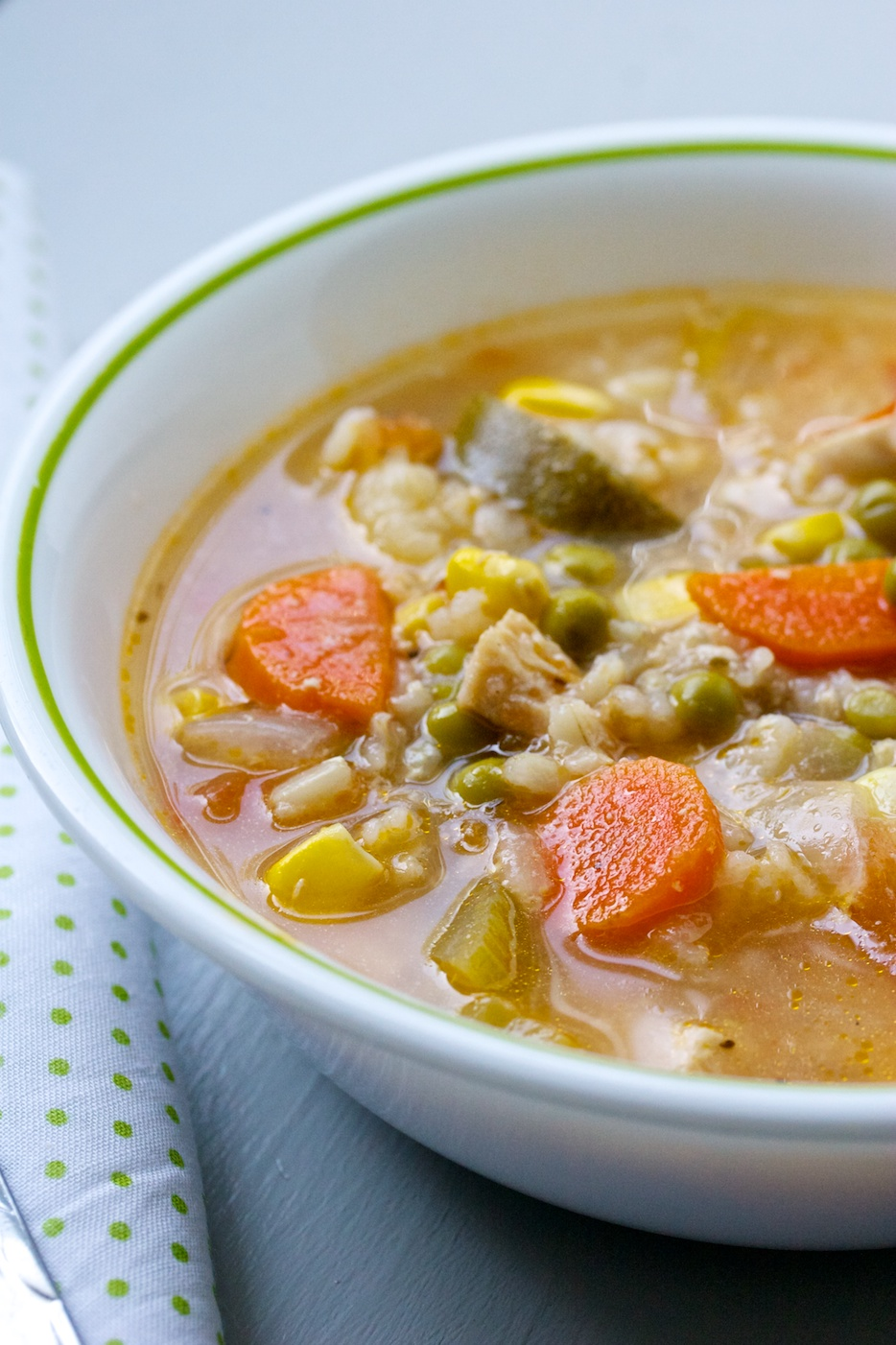 chicken, veggie & rice soup/stoup | movita beaucoup