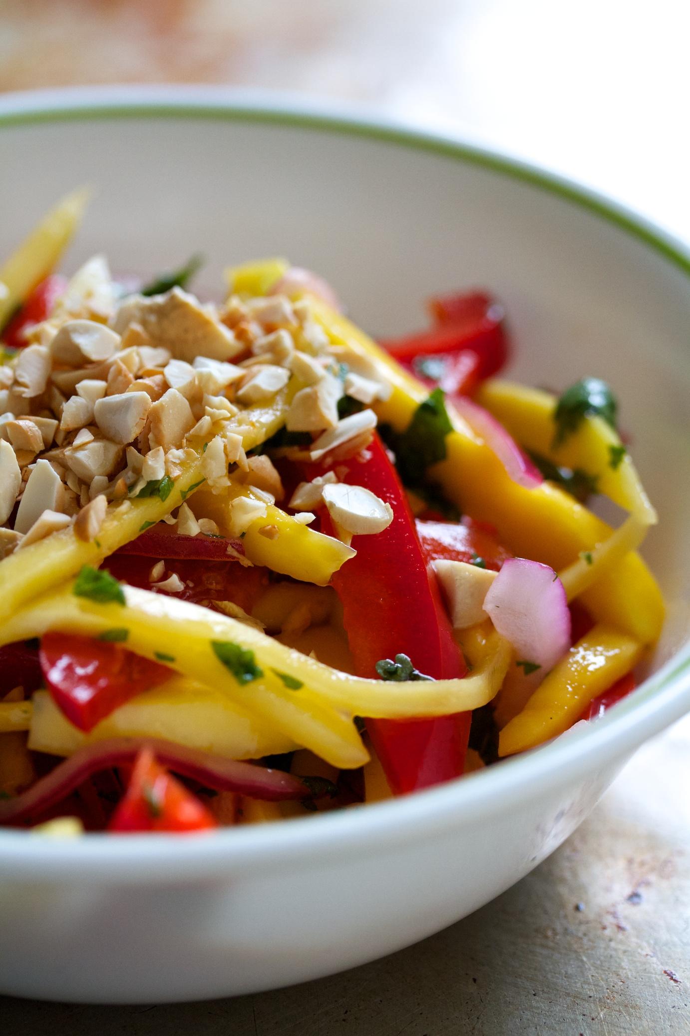 mango salad | movita beaucoup