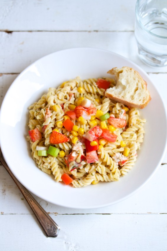 lobster pasta salad | movita beaucoup