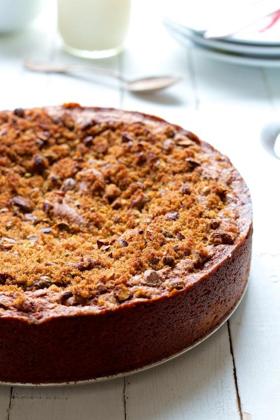 cardamom rhubarb snacking cake   movita beaucoup