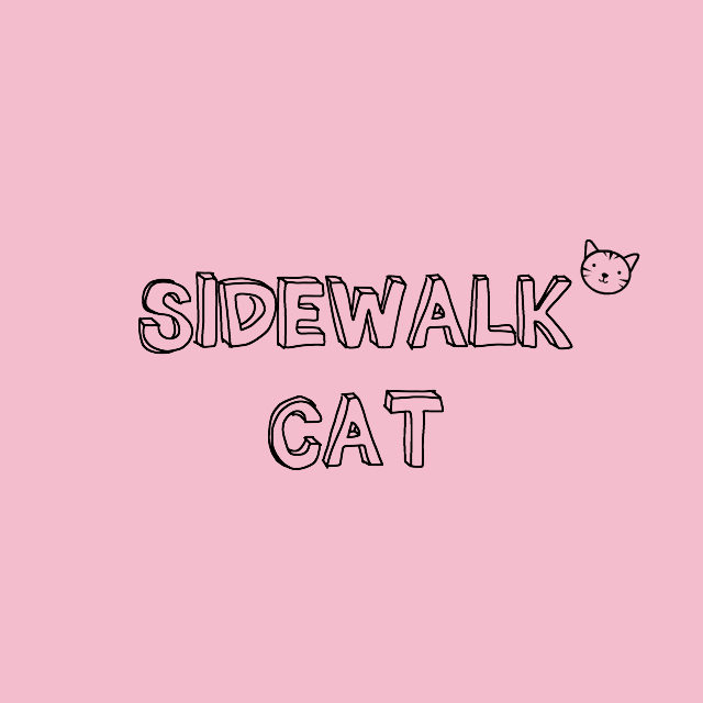 sidewalk cat // movita beaucoup