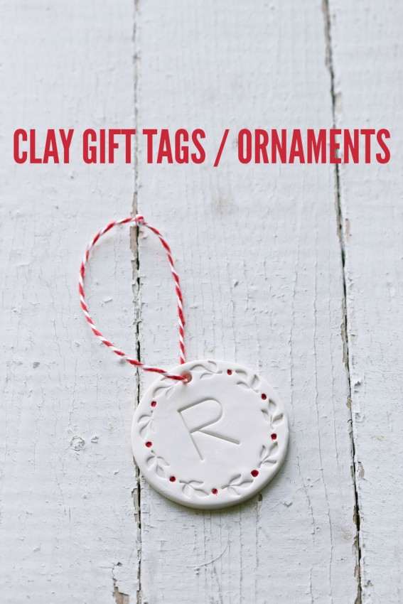clay gift tags | movita beaucoup