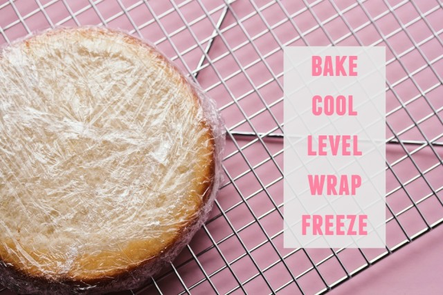 freezing cakes | movita beaucoup