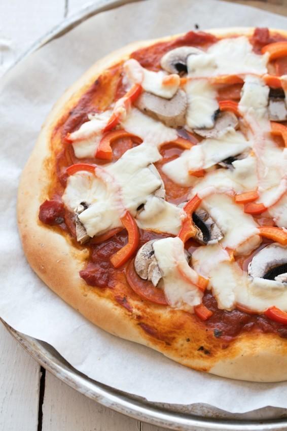 classic pizza dough | movita beaucoup