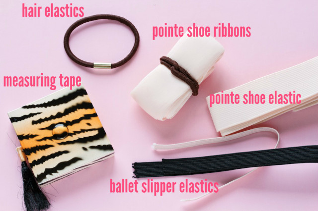 DIY ballet sewing kit | movita beaucoup