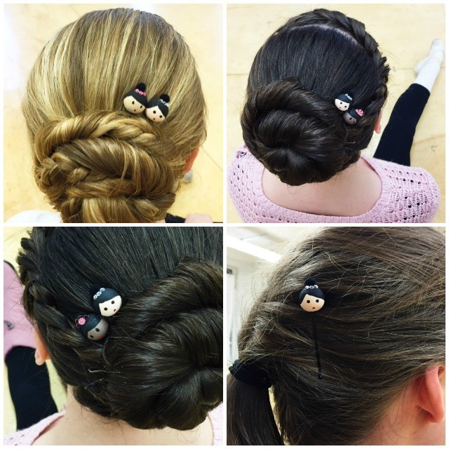 bunheads for bunheads | movita beaucoup - make these adorable bobby pins for the ballerina in your life!