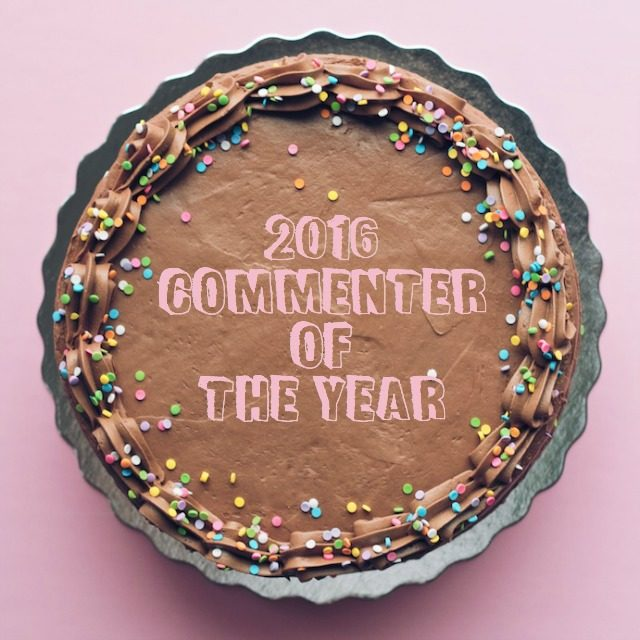 2016 commenter of the year // movita beaucoup