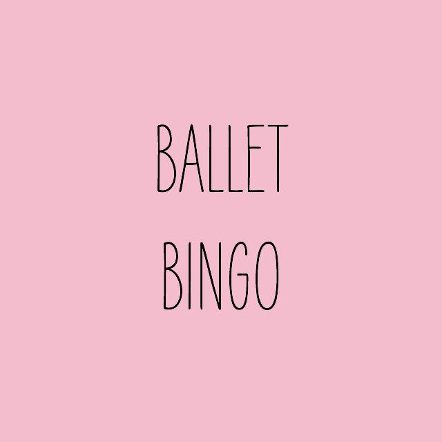 Bingo de Ballet