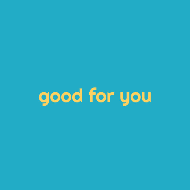 good for you // movita beaucoup