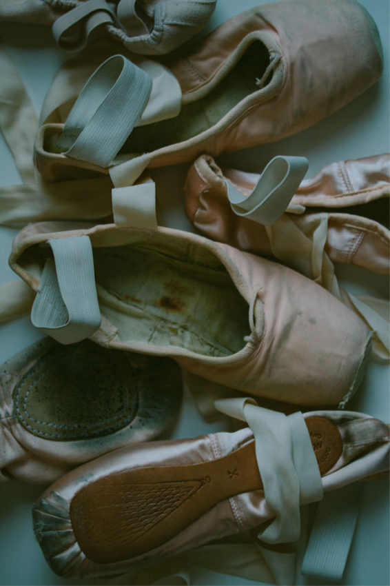 pointe shoes // movita beaucoup