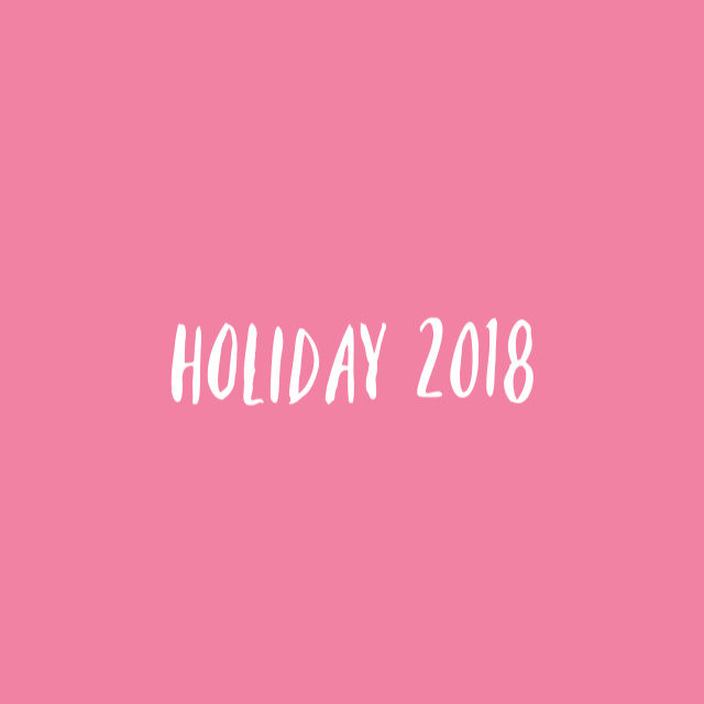 holiday 2018 // movita beaucoup