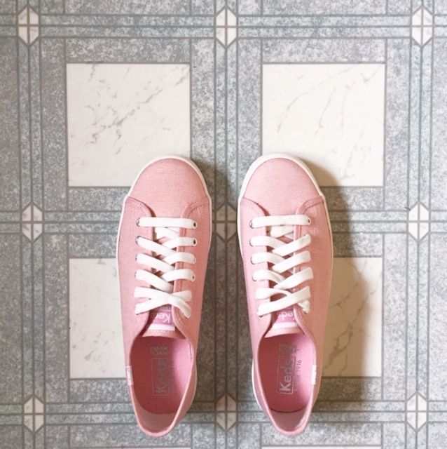 pink keds // movita beaucoup